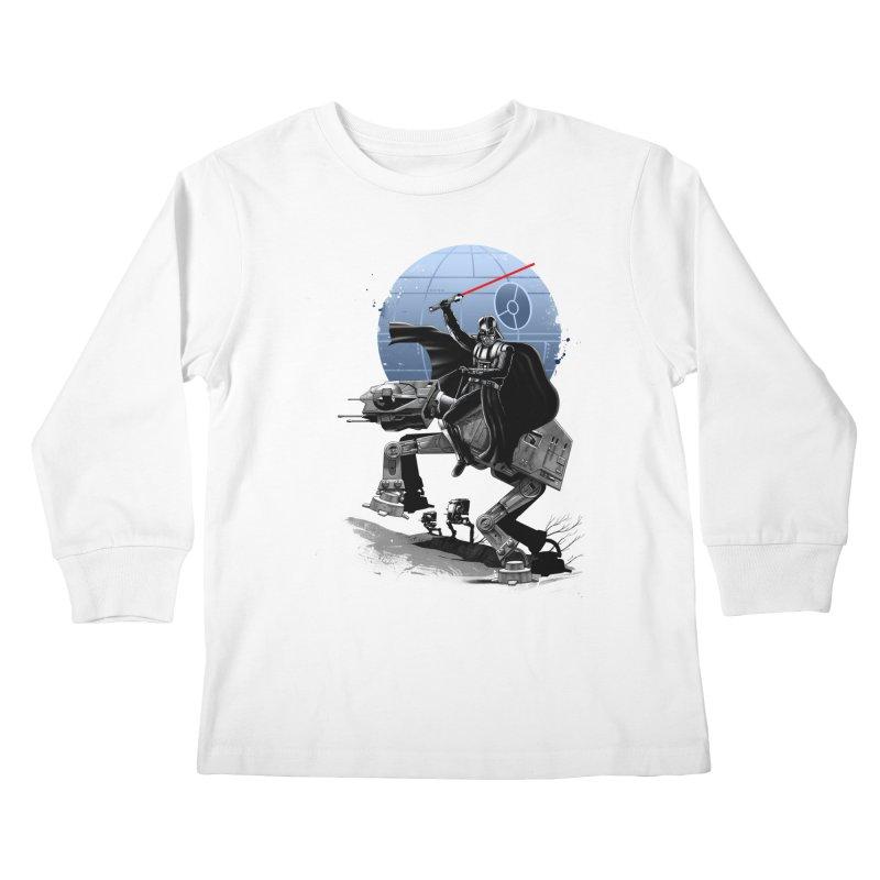 Crossing the Dark Path Kids Longsleeve T-Shirt by vincenttrinidad's Artist Shop