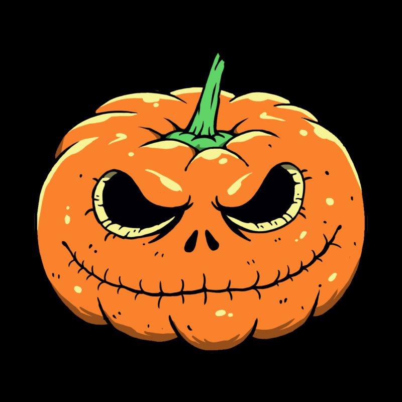 Pumpkin Nightmare Women's V-Neck by Vincent Trinidad Art