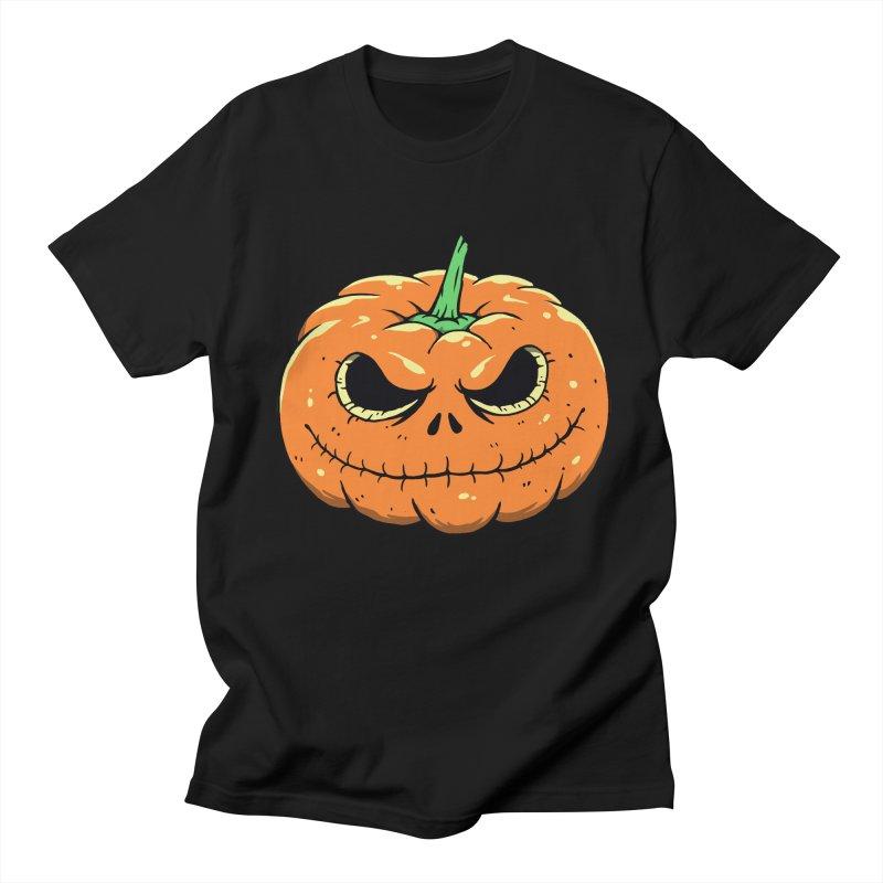 Pumpkin Nightmare Men's T-Shirt by Vincent Trinidad Art