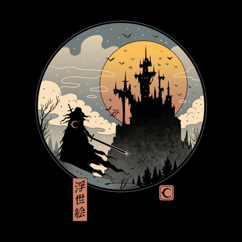 Vampire Slayer in Edo Men's T-Shirt by Vincent Trinidad Art