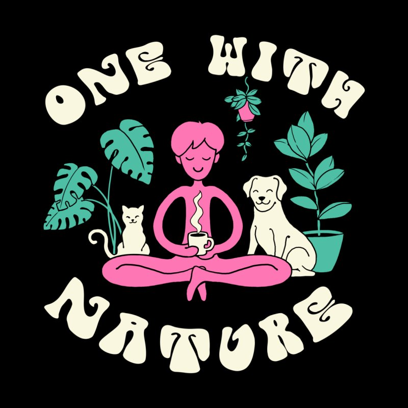 One with Nature Women's V-Neck by Vincent Trinidad Art