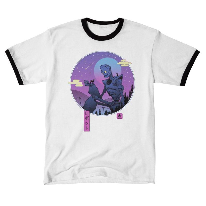 The Gentle Robot Men's T-Shirt by Vincent Trinidad Art