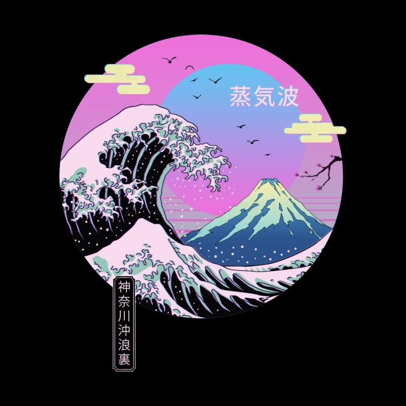 Wave Aesthetics Men's T-Shirt by Vincent Trinidad Art