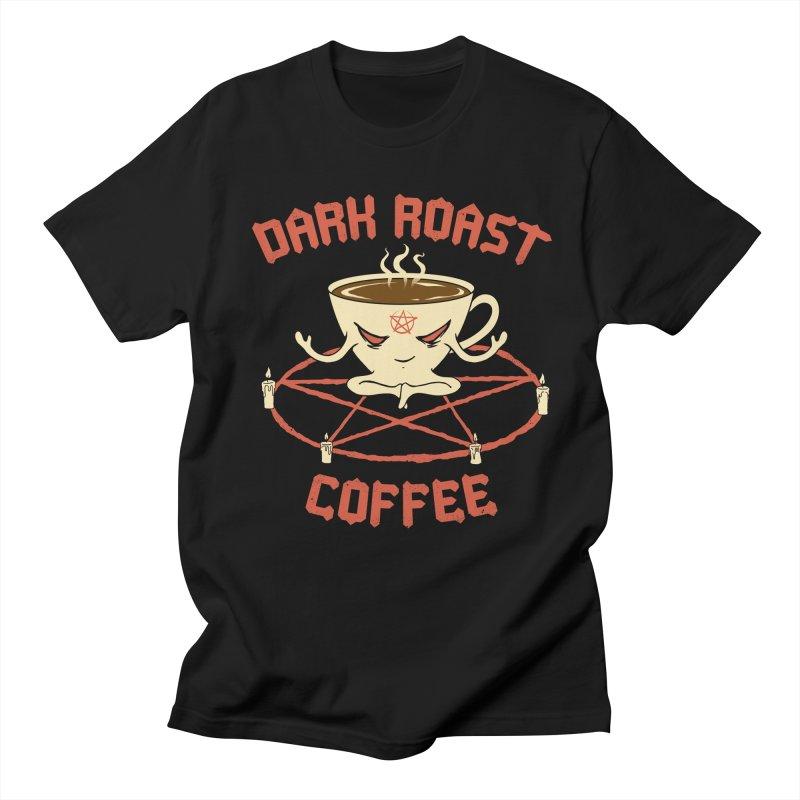 Dark Roast Coffee Men's T-Shirt by Vincent Trinidad Art