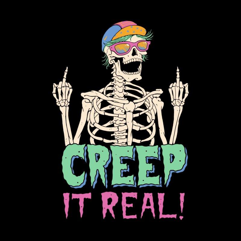 Creep it Real! Men's T-Shirt by Vincent Trinidad Art