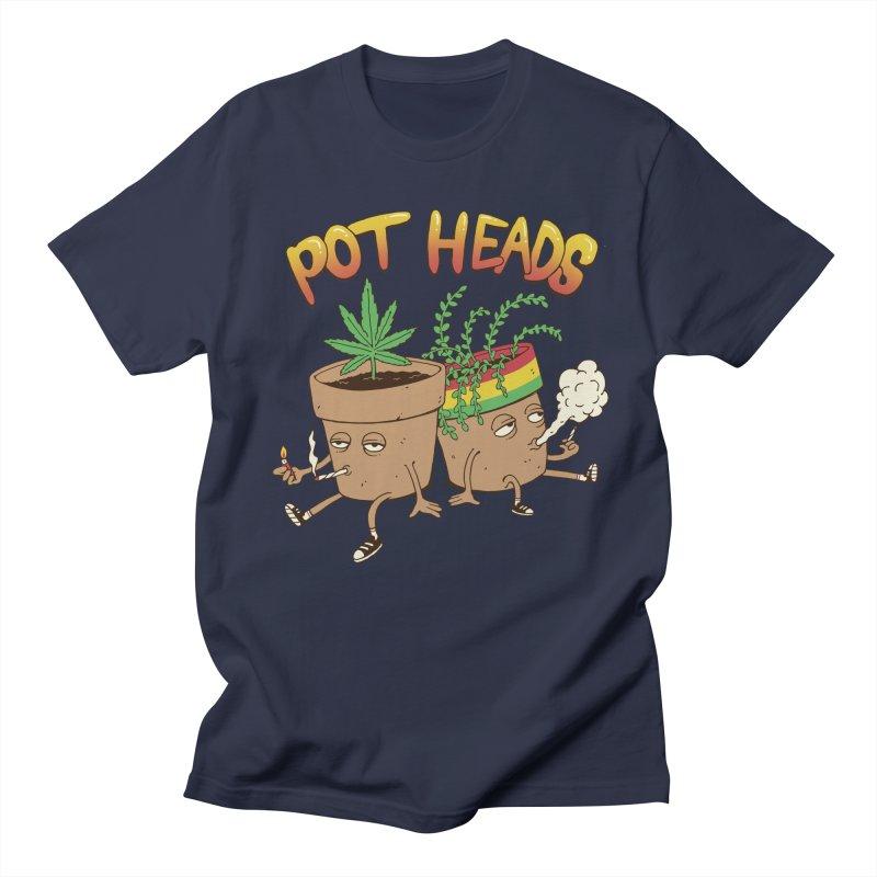 Pot Heads Men's T-Shirt by Vincent Trinidad Art