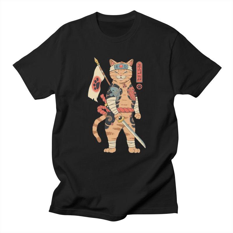 Neko Shogun Men's T-Shirt by Vincent Trinidad Art