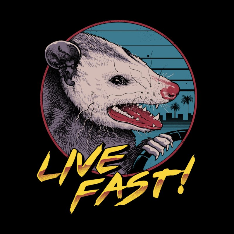 Live Fast! Men's T-Shirt by Vincent Trinidad Art