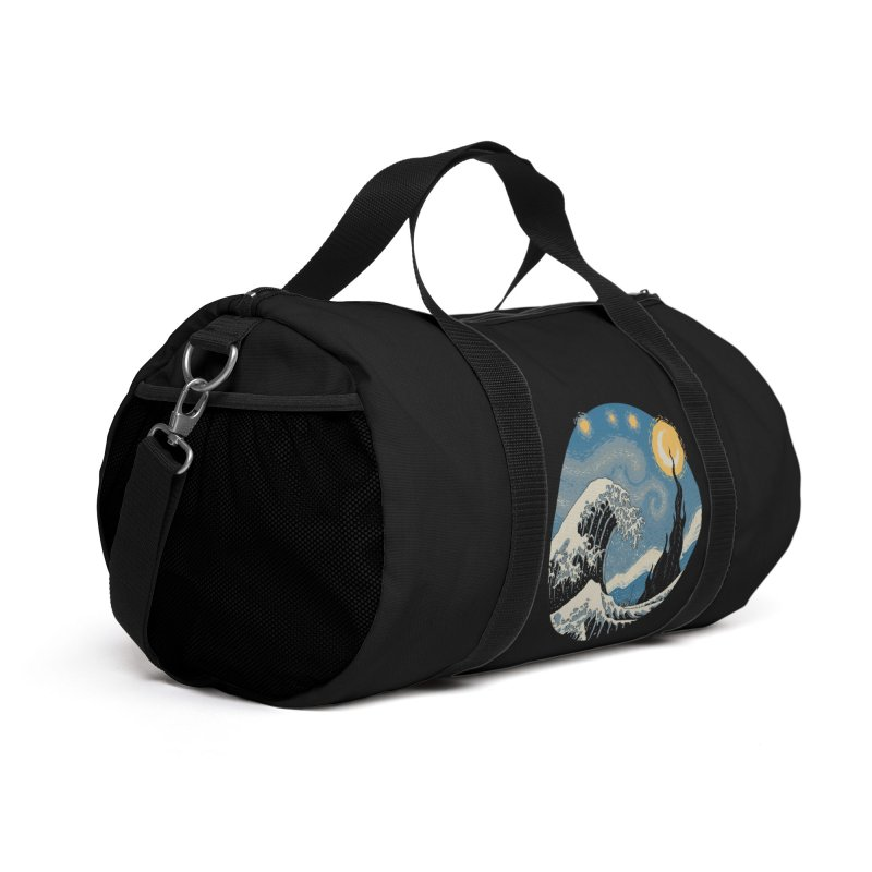 The Great Starry Wave Accessories Bag by Vincent Trinidad Art