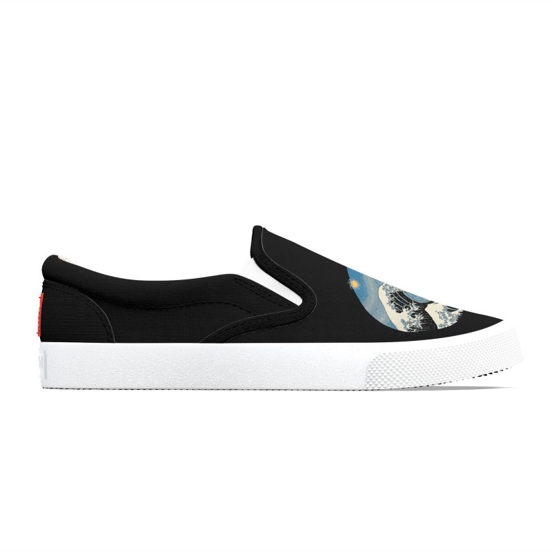 The Great Starry Wave Men's Shoes by Vincent Trinidad Art
