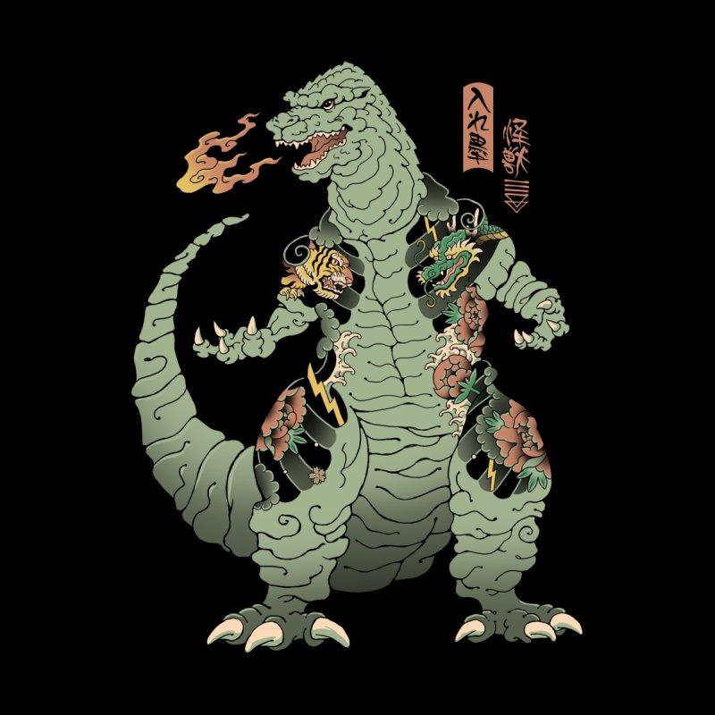 Tattooed Kaiju Men's T-Shirt by Vincent Trinidad Art