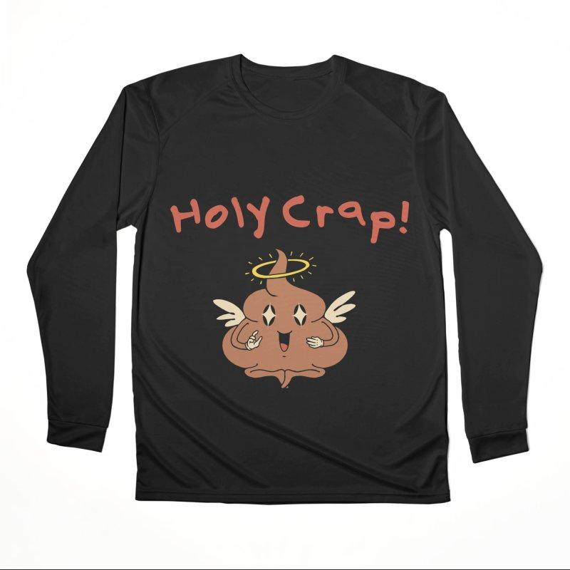 Holy Crap! Women's Longsleeve T-Shirt by Vincent Trinidad Art