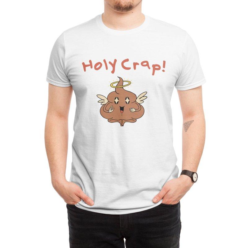 Holy Crap! Men's T-Shirt by Vincent Trinidad Art