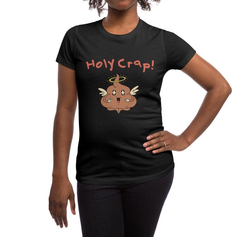 Holy Crap! Women's T-Shirt by Vincent Trinidad Art