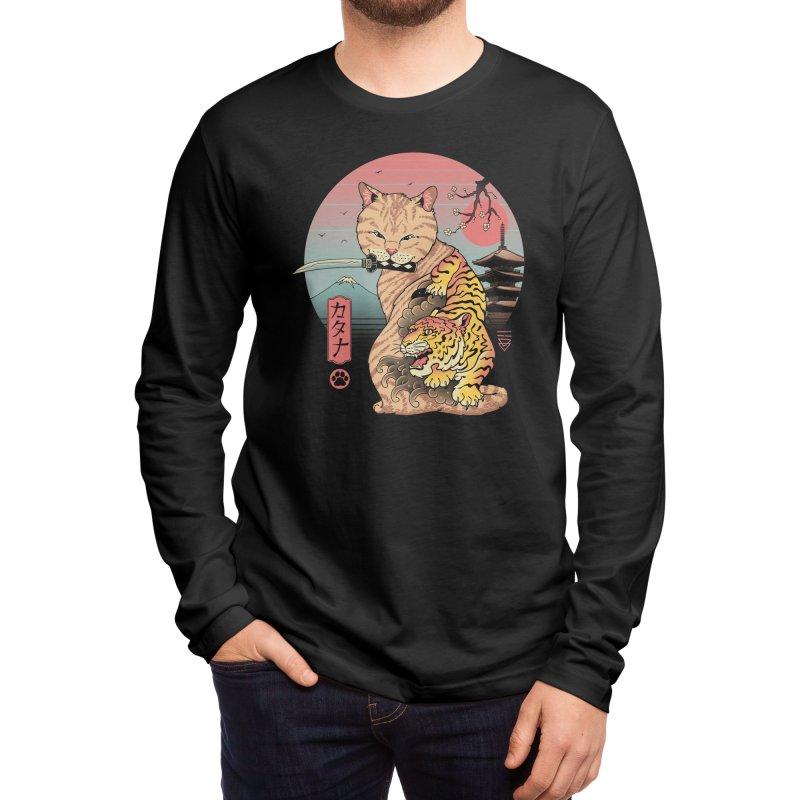 Catana in Edo Men's Longsleeve T-Shirt by Vincent Trinidad Art