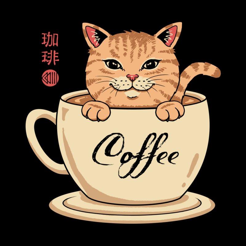 Nekoffee Men's Longsleeve T-Shirt by Vincent Trinidad Art