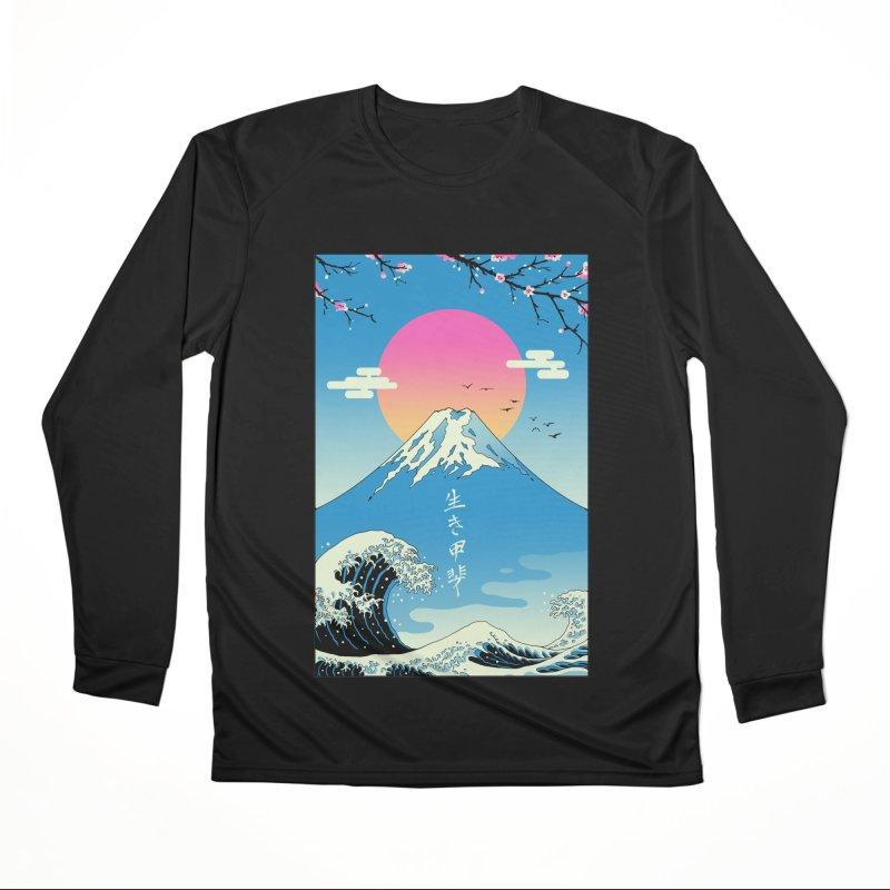 Ikigai Women's Longsleeve T-Shirt by Vincent Trinidad Art