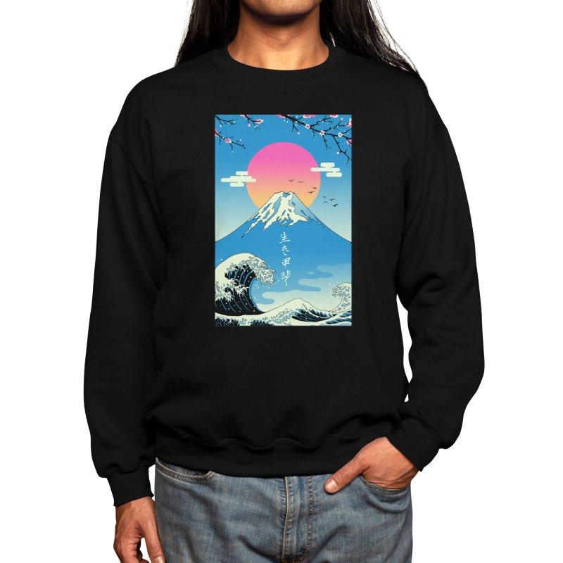 Ikigai Men's Sweatshirt by Vincent Trinidad Art