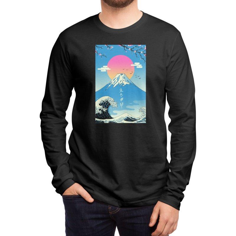Ikigai Men's Longsleeve T-Shirt by Vincent Trinidad Art