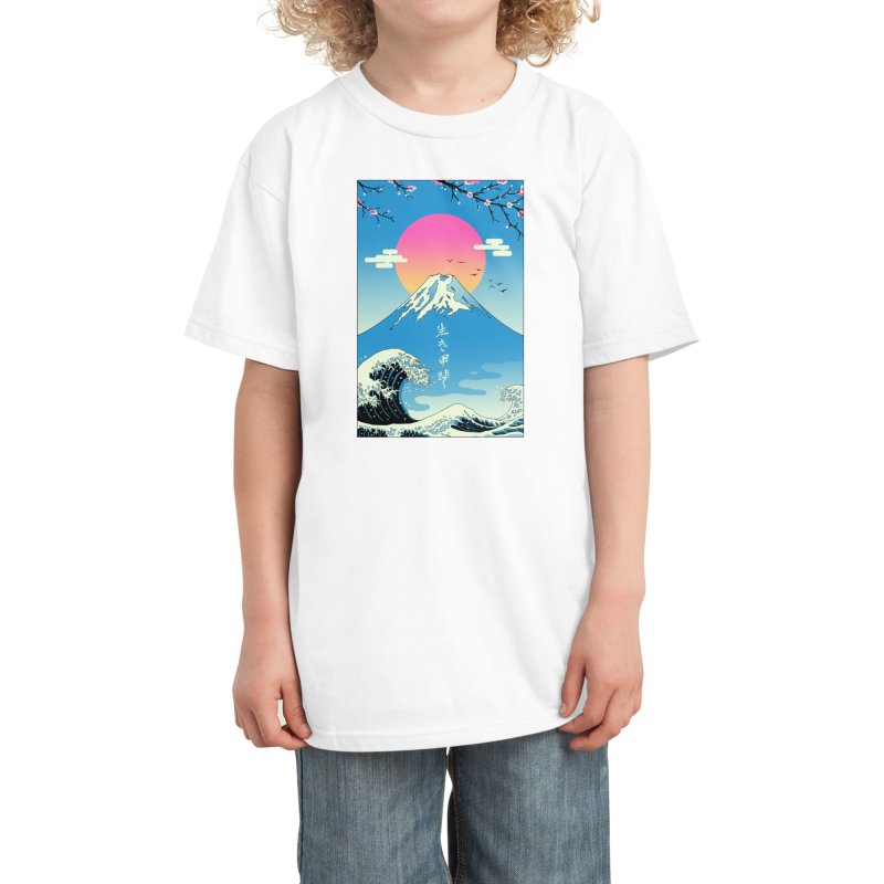 Ikigai Kids T-Shirt by Vincent Trinidad Art