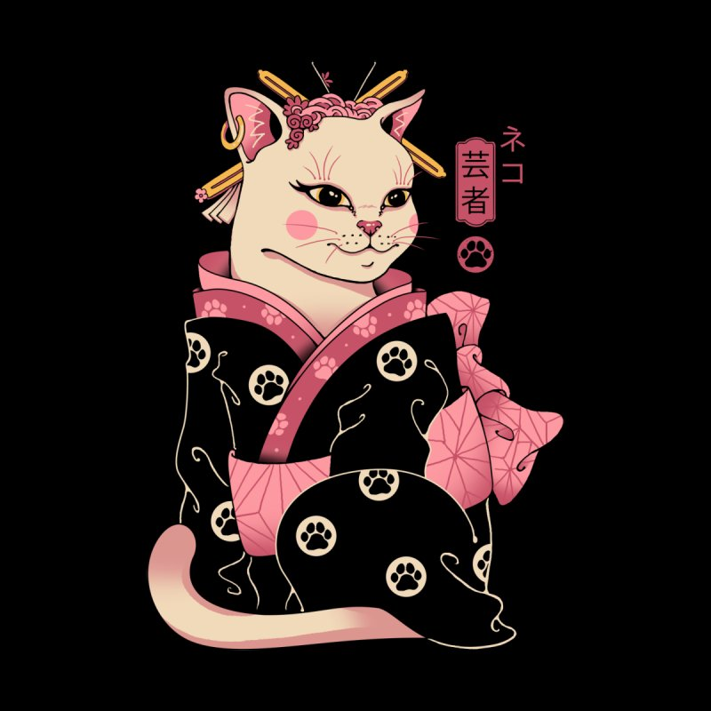 Neko Geisha Women's T-Shirt by Vincent Trinidad Art