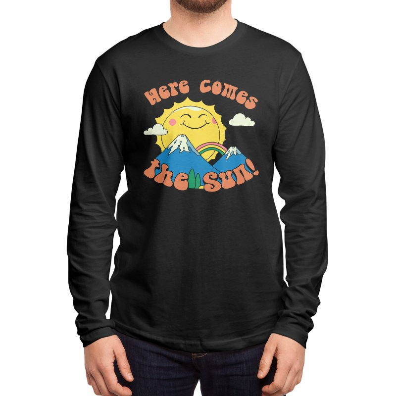 Here Comes the Sun! Men's Longsleeve T-Shirt by Vincent Trinidad Art