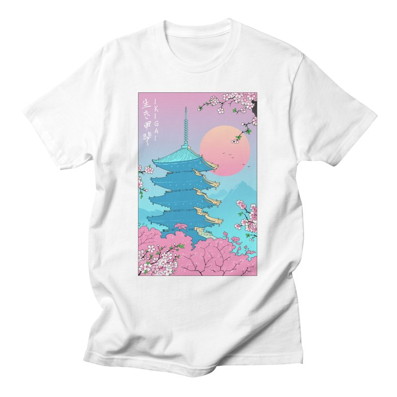 Ikigai in Kyoto Men's T-Shirt by Vincent Trinidad Art