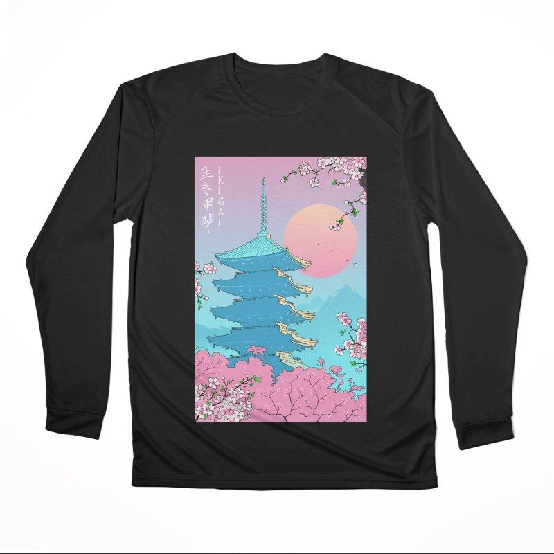 Ikigai in Kyoto Women's Longsleeve T-Shirt by Vincent Trinidad Art