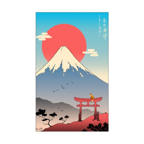 Design for Ikigai in Mt. Fuji