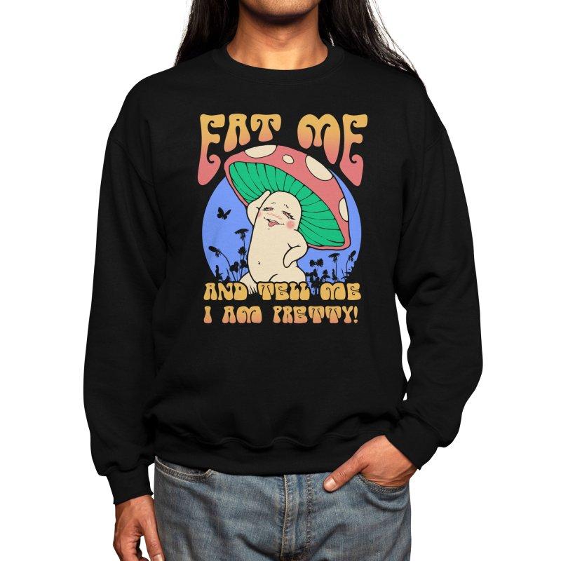 Pretty Mushroom! Men's Sweatshirt by Vincent Trinidad Art