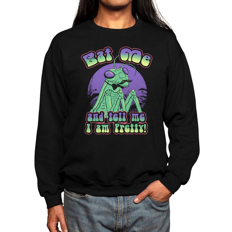 Pretty Mantis Men's Sweatshirt by Vincent Trinidad Art