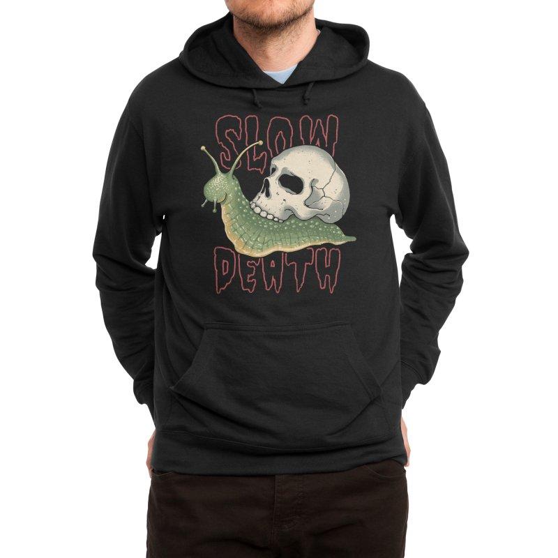 Slow Death Men's Pullover Hoody by Vincent Trinidad Art