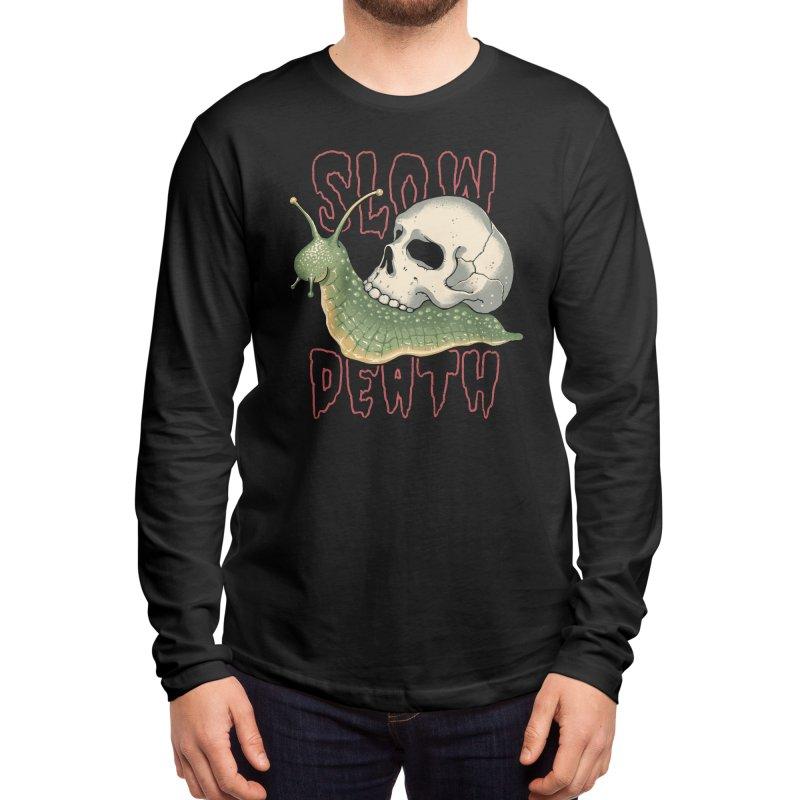 Slow Death Men's Longsleeve T-Shirt by Vincent Trinidad Art