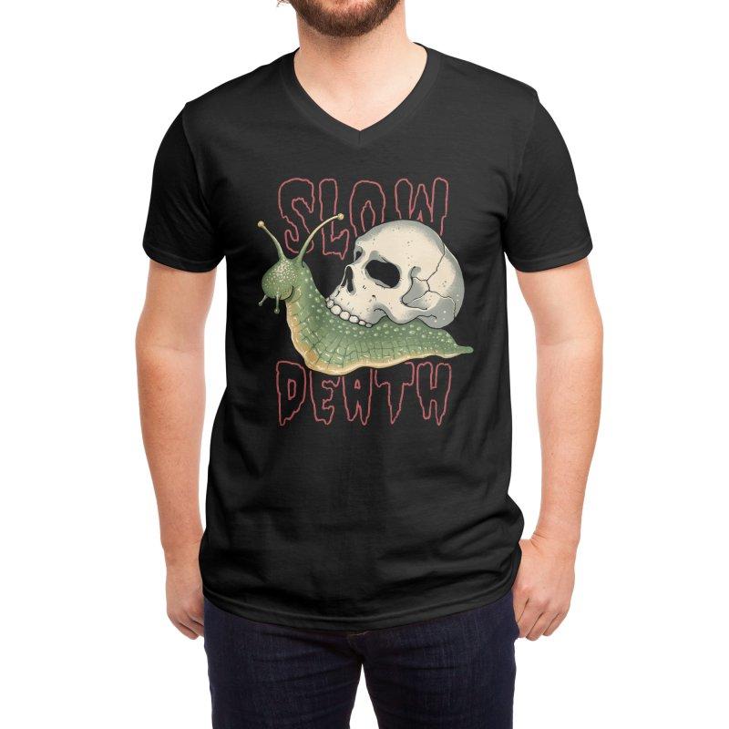 Slow Death Men's V-Neck by Vincent Trinidad Art