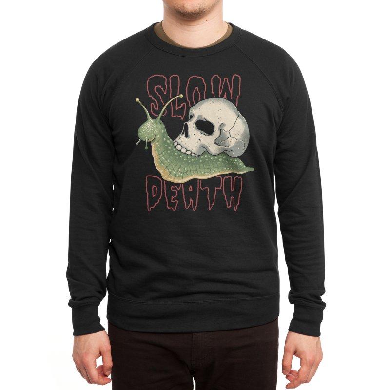 Slow Death Men's Sweatshirt by Vincent Trinidad Art