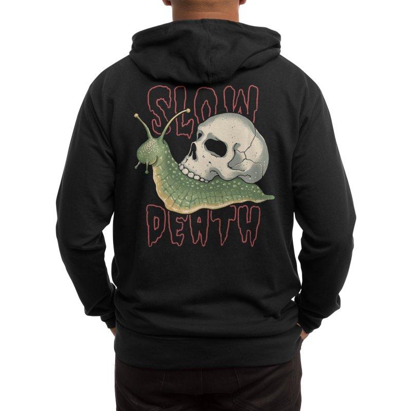 Slow Death Men's Zip-Up Hoody by Vincent Trinidad Art