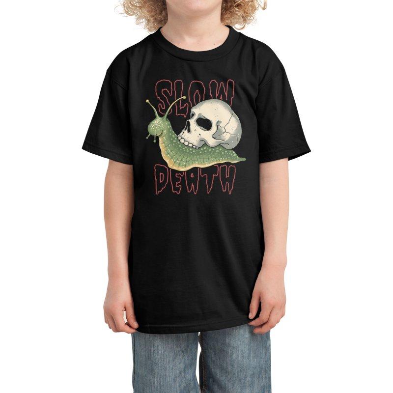 Slow Death Kids T-Shirt by Vincent Trinidad Art