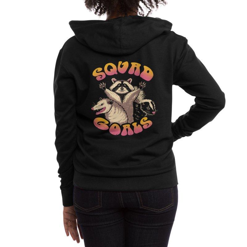 Forbidden Squad Women's Zip-Up Hoody by Vincent Trinidad Art