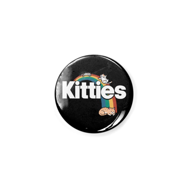 Rainbow Cats Accessories Button by Vincent Trinidad Art