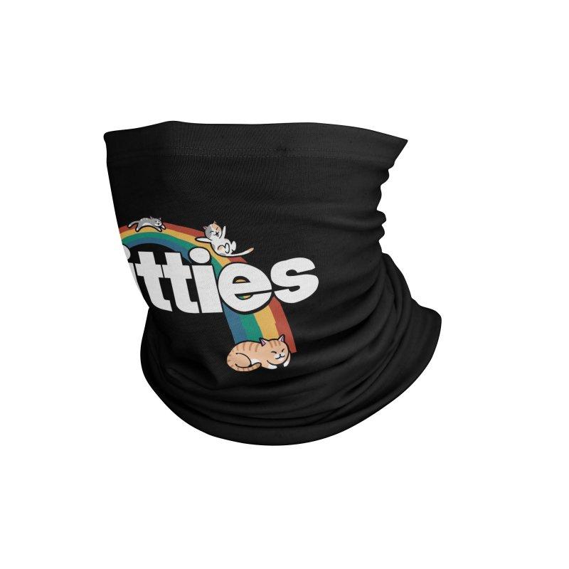 Rainbow Cats Accessories Neck Gaiter by Vincent Trinidad Art