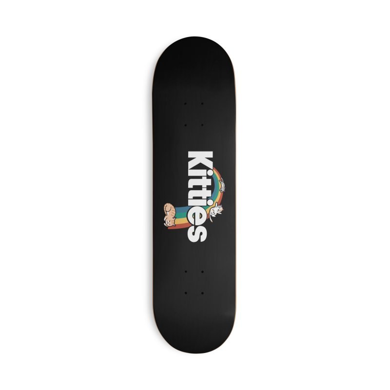 Rainbow Cats Accessories Skateboard by Vincent Trinidad Art