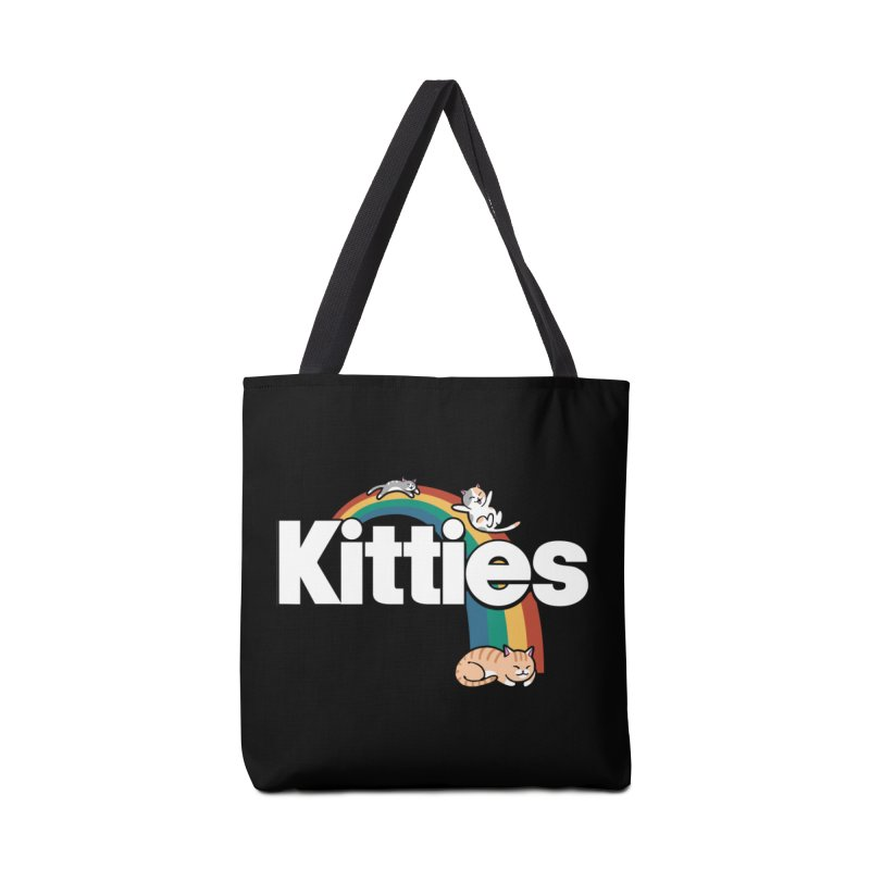 Rainbow Cats Accessories Bag by Vincent Trinidad Art