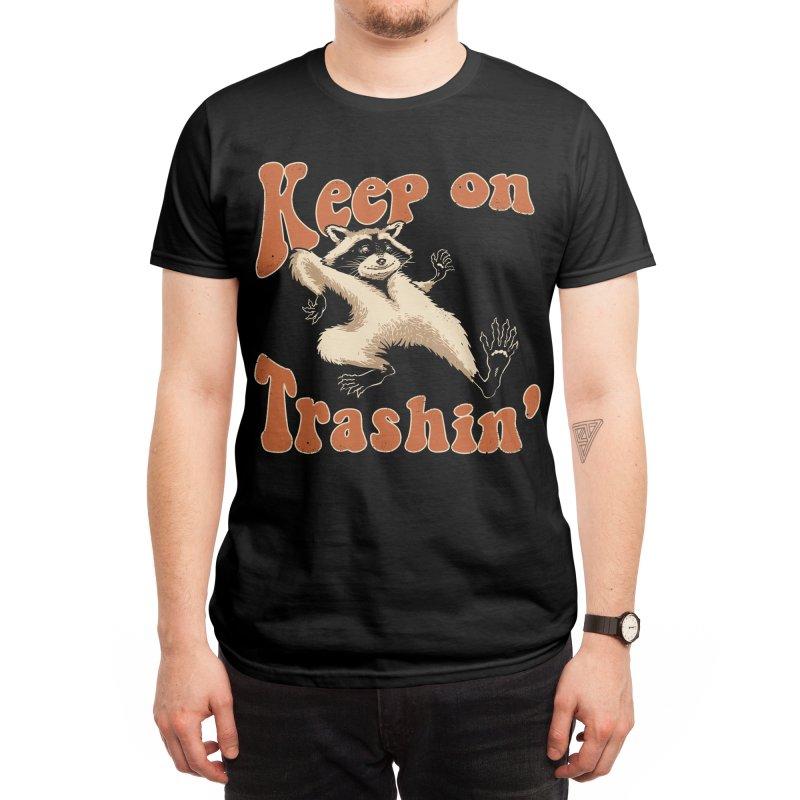 Keep on Trashin' Men's T-Shirt by Vincent Trinidad Art