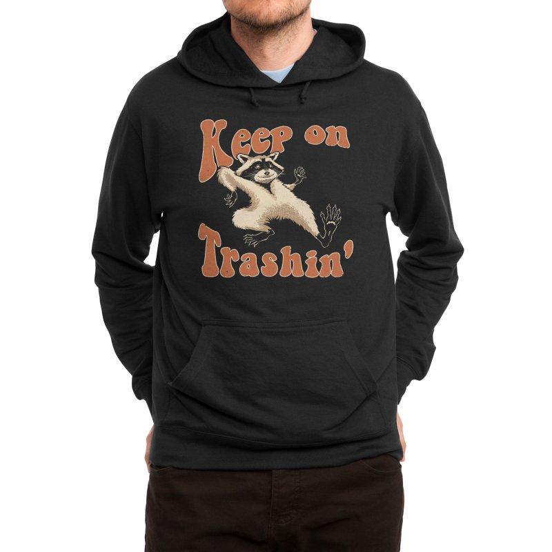 Keep on Trashin' Men's Pullover Hoody by Vincent Trinidad Art