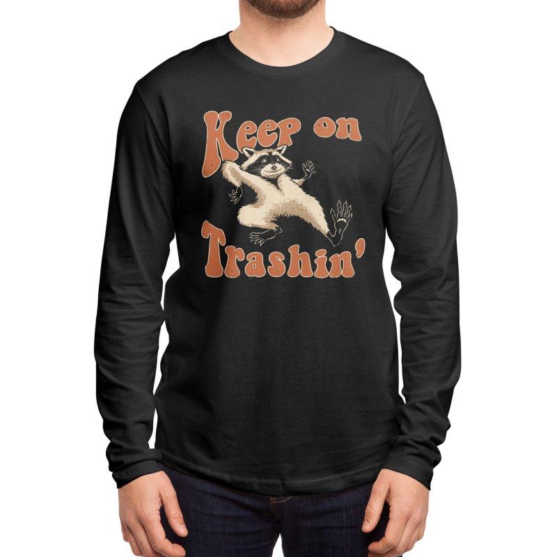Keep on Trashin' Men's Longsleeve T-Shirt by Vincent Trinidad Art