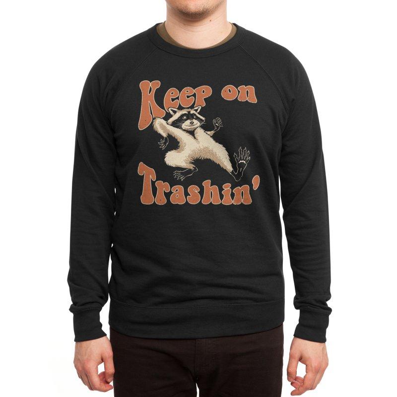 Keep on Trashin' Men's Sweatshirt by Vincent Trinidad Art