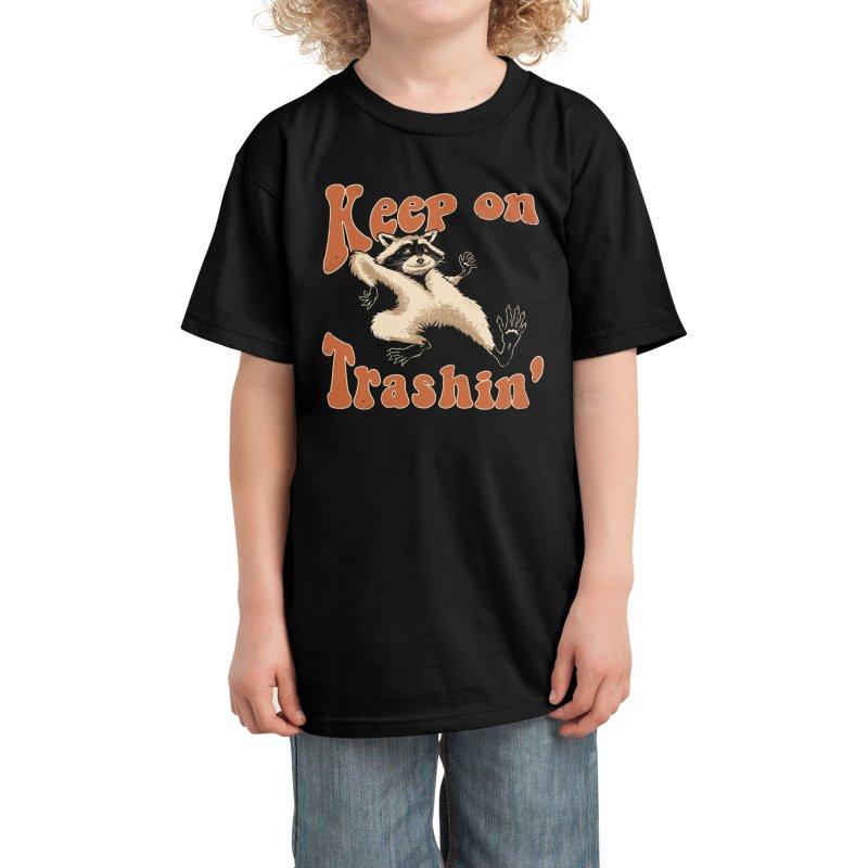 Keep on Trashin' Kids T-Shirt by Vincent Trinidad Art
