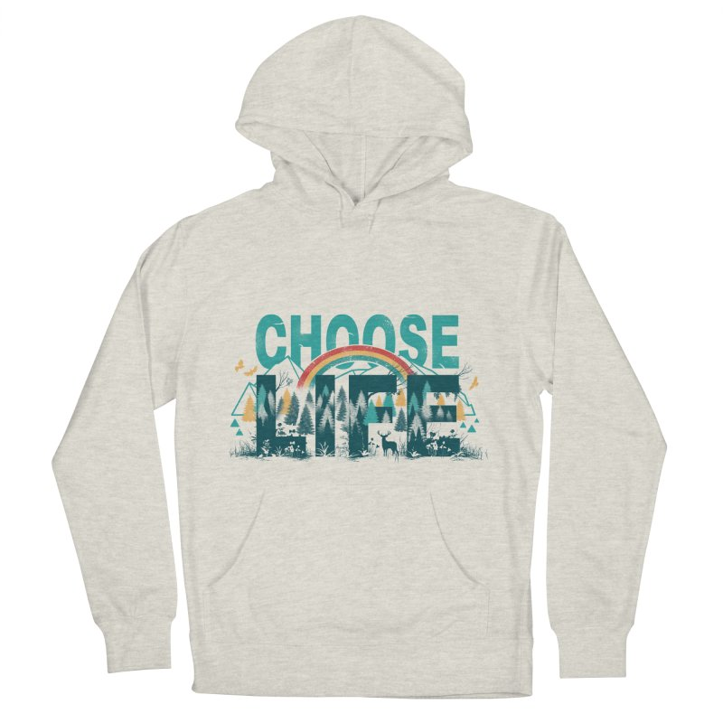 Choose to Live the Life Men's Pullover Hoody by vincenttrinidad's Artist Shop
