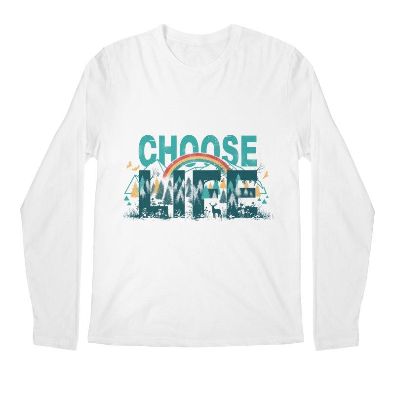 Choose to Live the Life Men's Longsleeve T-Shirt by vincenttrinidad's Artist Shop