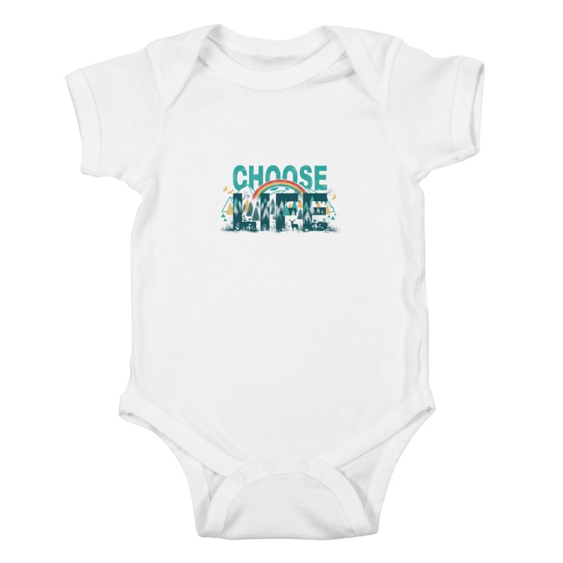 Choose to Live the Life Kids Baby Bodysuit by vincenttrinidad's Artist Shop